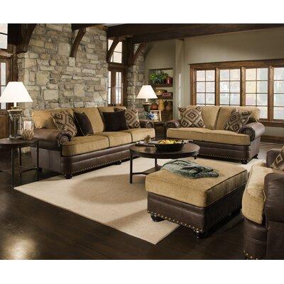 Simmons Upholstery 7541-03 Lattimer Cocoa Lattimer Living Room Collection