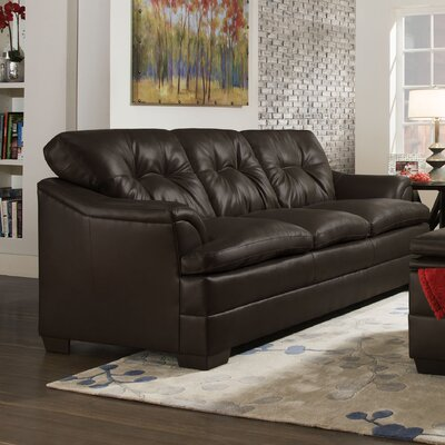 5122-03 Apollo Espresso UFI3006 Simmons Upholstery Apollo Sofa