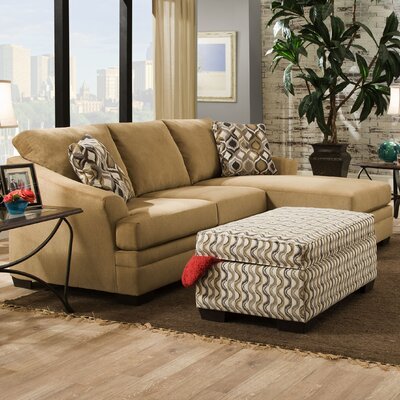 6507-03CC CICERO TAN Simmons Upholstery Sectionals