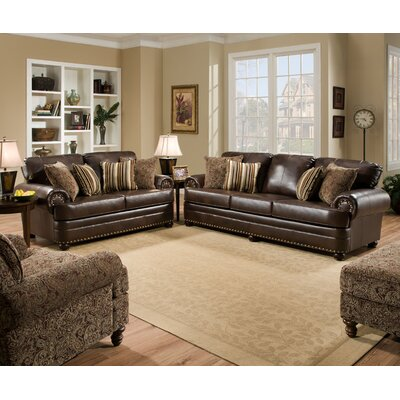 Simmons Upholstery 7531-03 Miracle Saddle Miracle Living Room Collection
