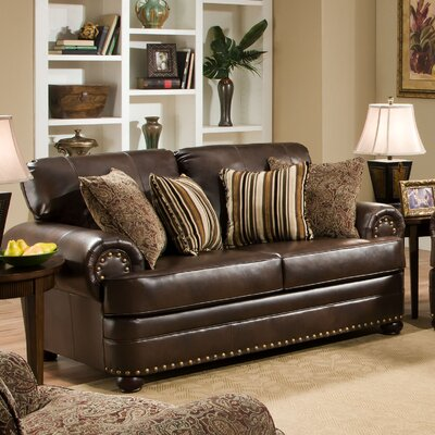 7531-02 Miracle Saddle UFI3117 Simmons Upholstery Miracle Loveseat