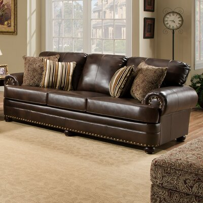 7531-03 Miracle Saddle UFI3116 Simmons Upholstery Miracle Sofa