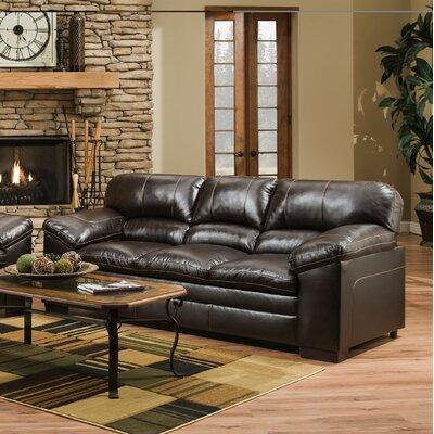 8049-03 Bingo Brown UFI3123 Simmons Upholstery Bingo Sofa