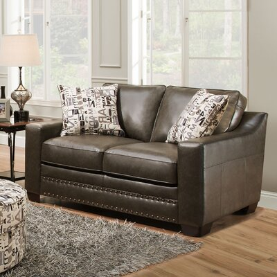9045-02 Experience Slate UFI3128 Simmons Upholstery Experience Loveseat