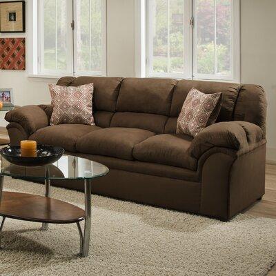 1720-03 Venture Chocolate UFI3099 Simmons Upholstery Venture Sofa
