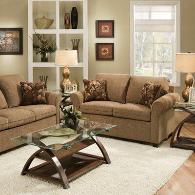 1630-04FE Reverb Sante Fe UFI3094 Simmons Upholstery Santa Fe Full Hide A Bed Sleeper Loveseat