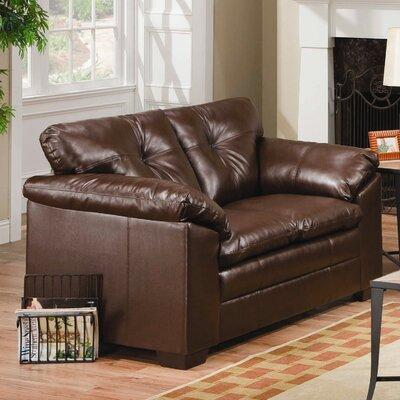 Sebring Loveseat Upholstery: Coffee Bean