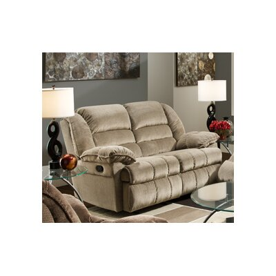 50410-52G Champion Tan UFI2657 Simmons Upholstery Champion Motion Gliding Loveseat