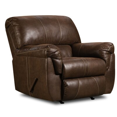 Bosquet Manual Rocker Recliner by Simmons Upholstery Reclining Type: Manual