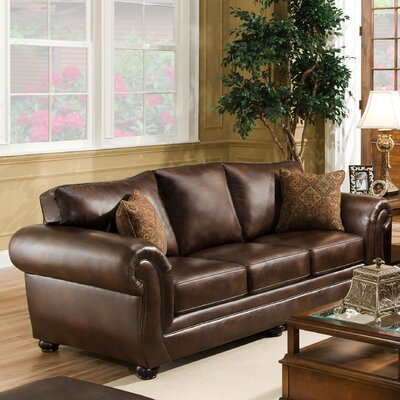 Simmons Upholstery 4280-03 Miracle Saddle Miracle Sofa