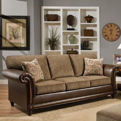 8013-03 Tampa Truffle UFI3213 Simmons Upholstery Tampa Sofa
