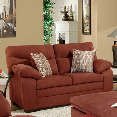 Simmons Upholstery 9521-02 Munchkin Cranapple Munchkin Loveseat