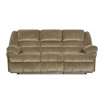 50410-65 Champion Tan UFI2652 Simmons Upholstery Champion Double Motion Sofa