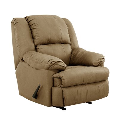 Kadoka Contemporary Manual Rocker Recliner by Simmons Upholstery Upholstery: Latte