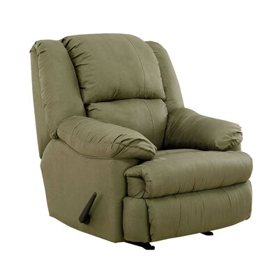 Kadoka Contemporary Manual Rocker Recliner by Simmons Upholstery Upholstery: Hazel