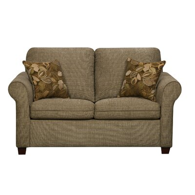 Cullen Loveseat Upholstery: Mushroom