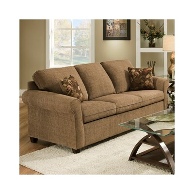 1630-04QE Reverb Sante Fe UFI3095 Simmons Upholstery Santa Fe Queen Hide A Bed Sleeper Sofa