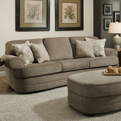 Simmons Upholstery Ashendon Sofa Color: Kingsley Pewter