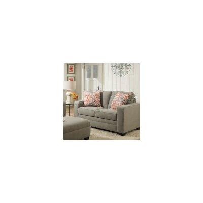 9064-04QE Miramar Ash UFI3292 Simmons Upholstery Miramar Sleeper Sofa
