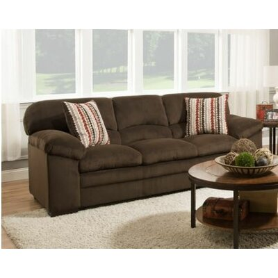 8043-03 Dover Coffee UFI3119 Simmons Upholstery Dover Sofa