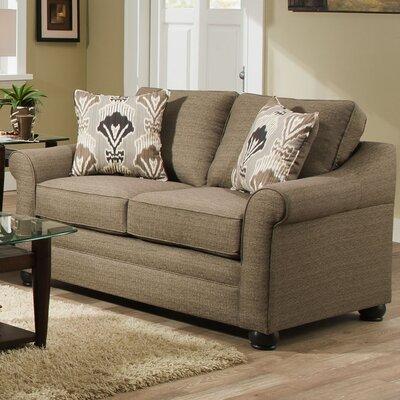 Simmons Upholstery 1610-02 Seguin Driftwood Seguin Driftwood Loveseat