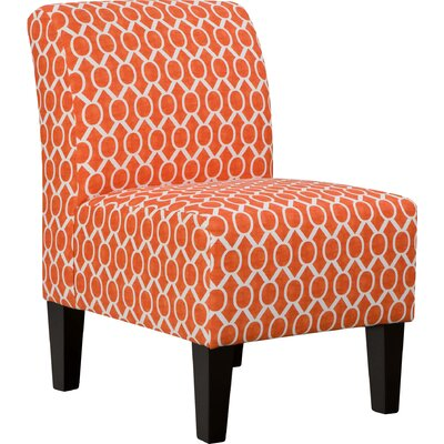 Side Chair in Orange