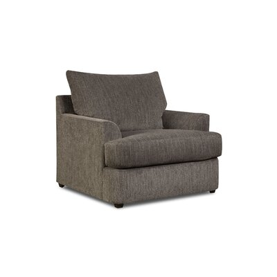 Simmons Upholstery Seminole Armchair Color: Walnut