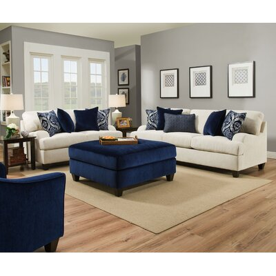 Simmons Upholstery Geaux Sterling Sleeper Sofa