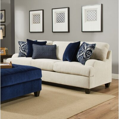 Alcott Hill ACOT5205 Simmons Burrowes Stone Queen Sleeper Sofa