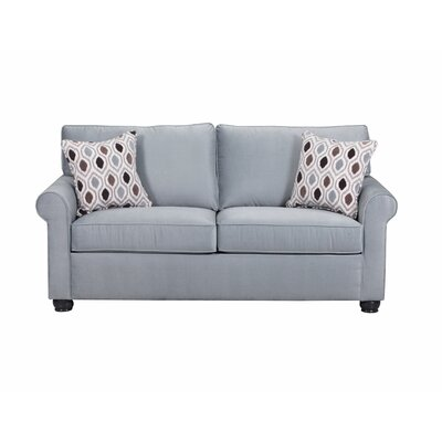 Hedwig Apartment Loveseat Sofa by Simmons Upholstery Upholstery: Spa