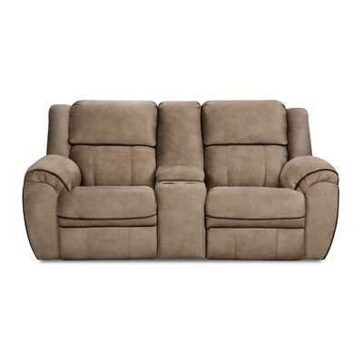 Simmons Genevieve Double Motion Reclining Loveseat Type: Manual