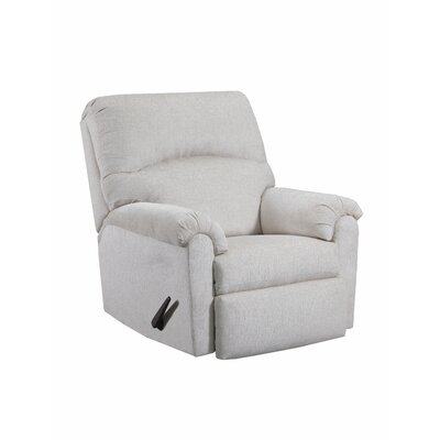 Helene Manual Rocker Recliner by Simmons Upholstery Upholstery: Linen
