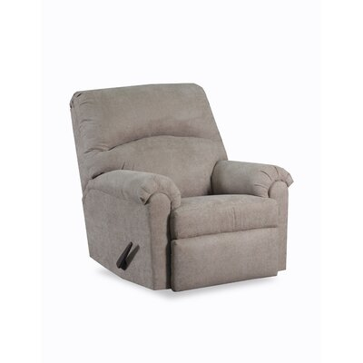 Simmons Henderson Manual Rocker Recliner Upholstery: Latte