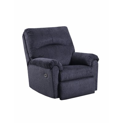 Simmons Helene Power Rocker Recliner Upholstery: Slate