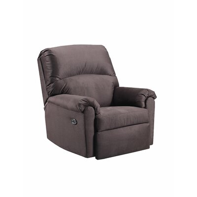 Simmons Hedwig Power Rocker Recliner Upholstery: Chocolate