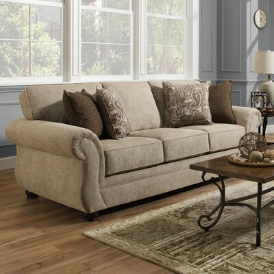 Darby Home Co DABY2845 Simmons Vicki Parchment Sofa