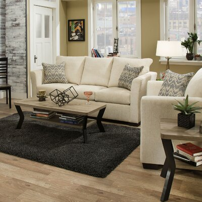 Du Bois Solid Configurable Living Room Set