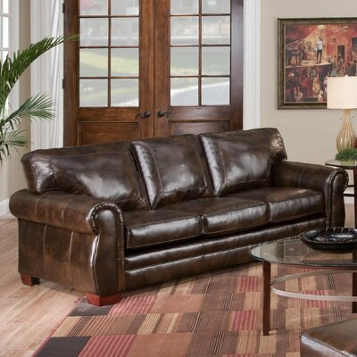 Burgundy Leather Sofa on Asmara Bonded Leather Queen Sleeper Sofa   8369 Queen Sleeper Savannah
