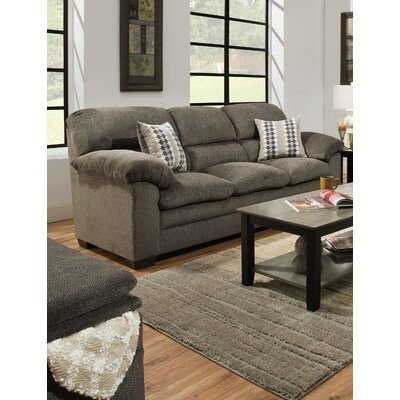 Derry Sofa by Simmons Upholstery Upholstery: Gray