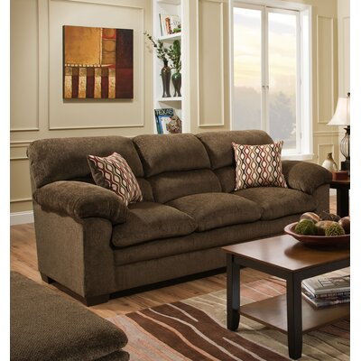 Derry Sofa by Simmons Upholstery Upholstery: Brown
