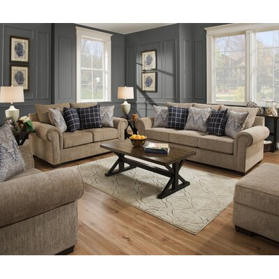Della Configurable Living Room Set