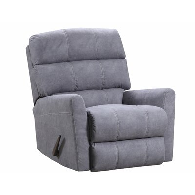 Isadora Recliner by Simmons Upholstery Upholstery: Gray, Reclining Type: Manual