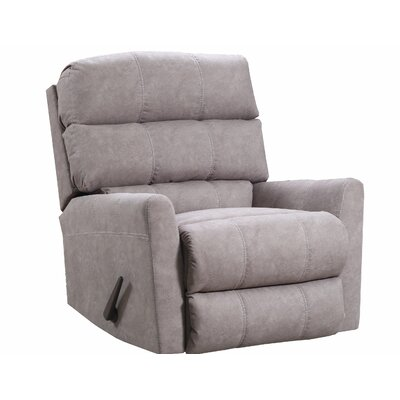 Isadora Recliner by Simmons Upholstery Upholstery: Tan, Recliner Type: Manual