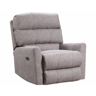 Isadora Recliner by Simmons Upholstery Upholstery: Tan, Reclining Type: Power