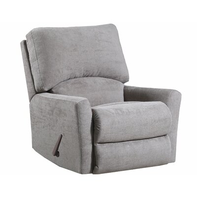 Gregorio Recliner by Simmons Upholstery Upholstery: Tan, Reclining Type: Manual