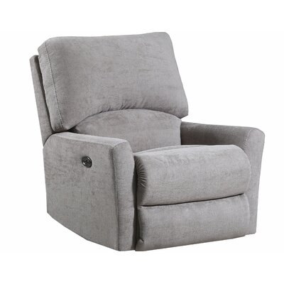 Gregorio Recliner by Simmons Upholstery Upholstery: Tan, Reclining Type: Power