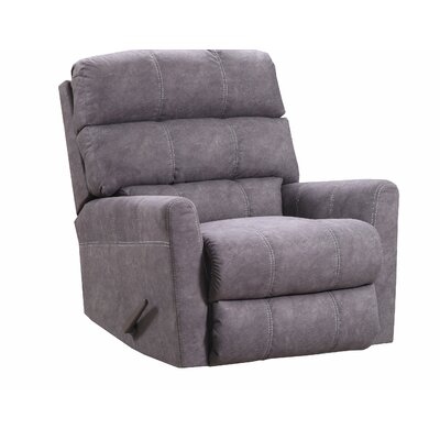Isadora Recliner by Simmons Upholstery Upholstery: Brown, Recliner Type: Manual