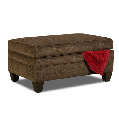 Degory Storage Ottoman Upholstery: Brown