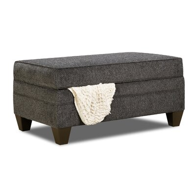 Degory Rectangle Storage Ottoman by Simmons Upholstery Upholstery: Gray