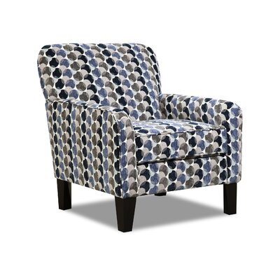 Degory Geometric Armchair by Simmons Upholstery